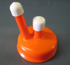 Carboy Syphon Cap- orange